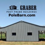 Horse Barn with Lean-tos